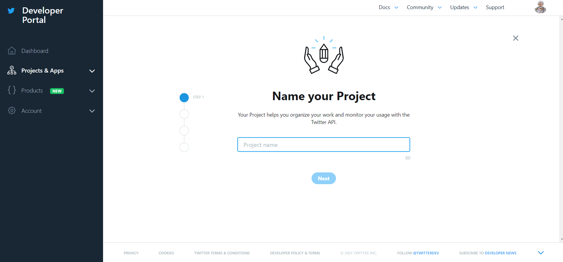 Name of the project