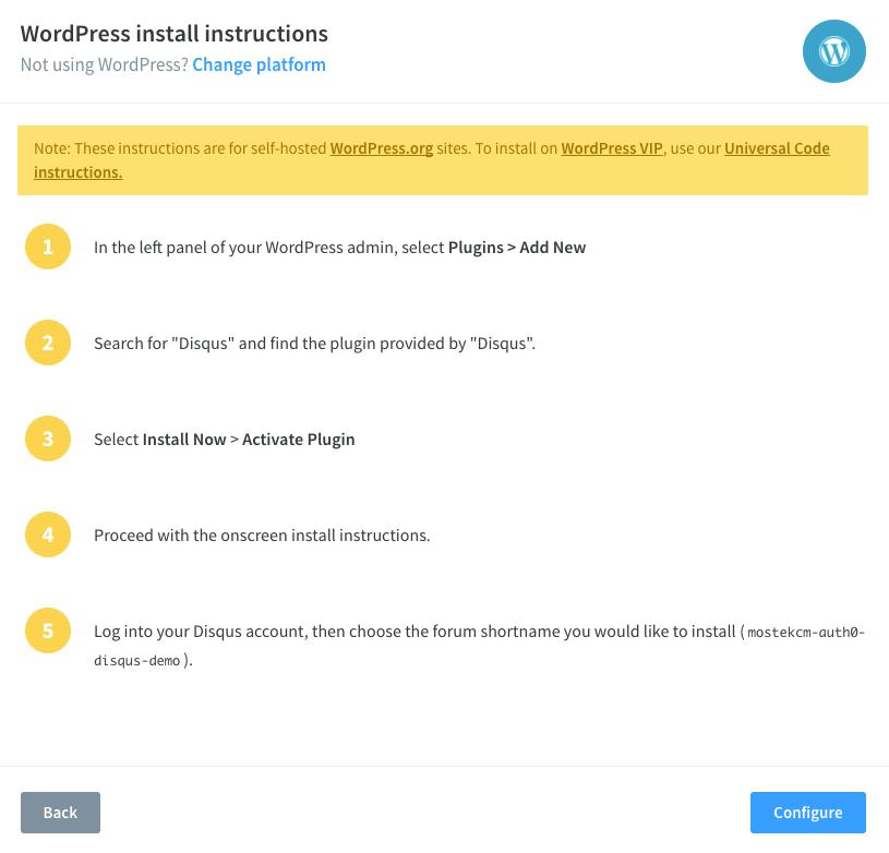 WordPress Plugin Install Instructions
