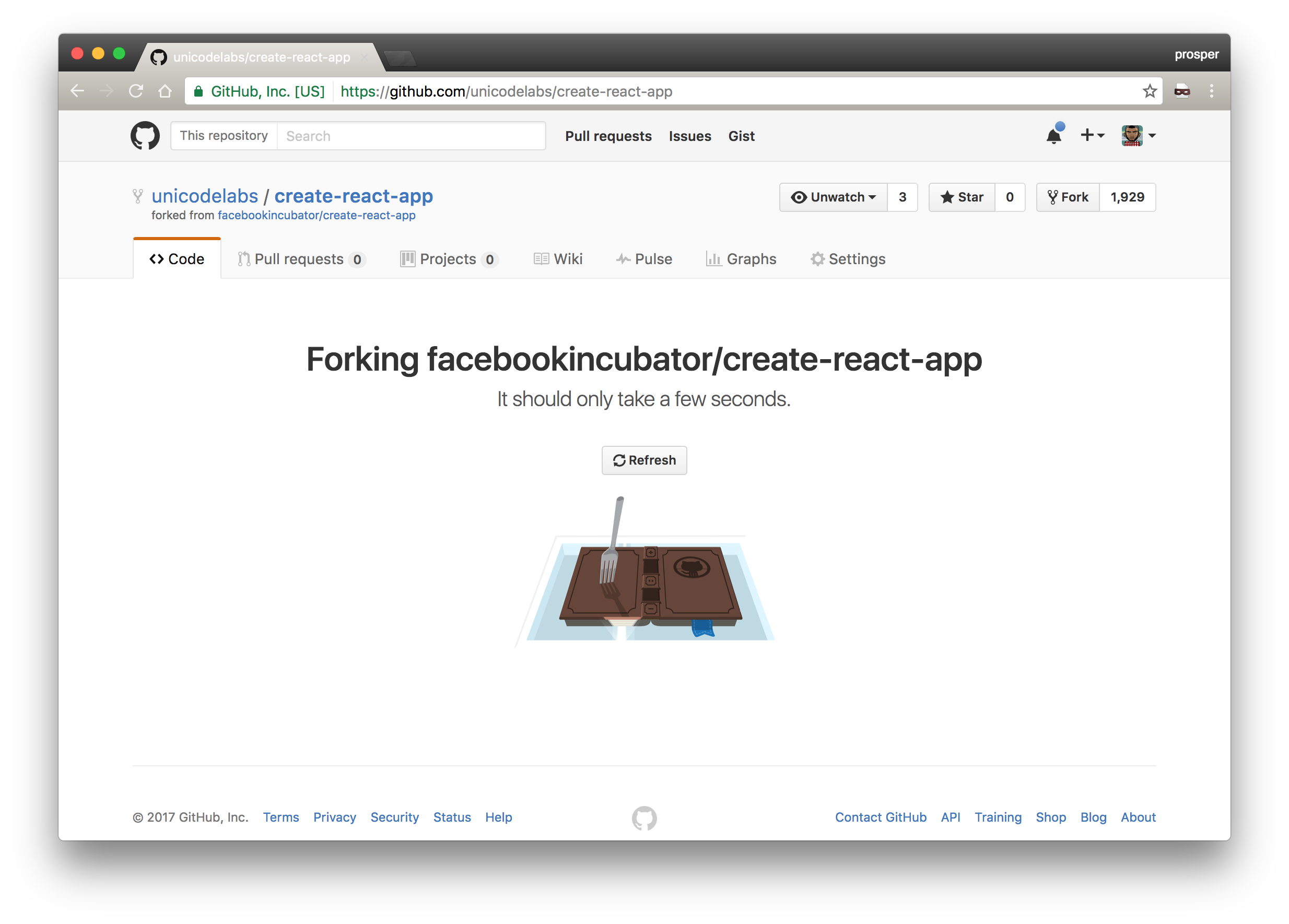 Creating a fork of create-react-app