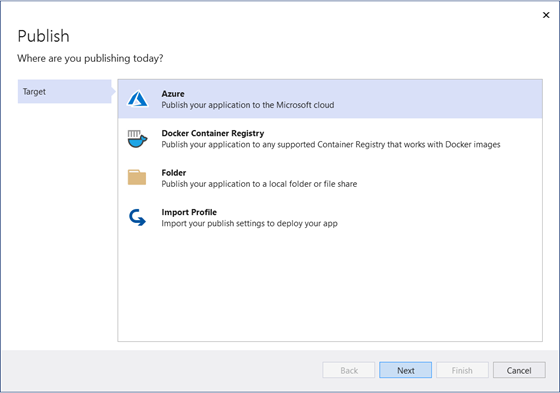 Publish your Azure Functions to Azure