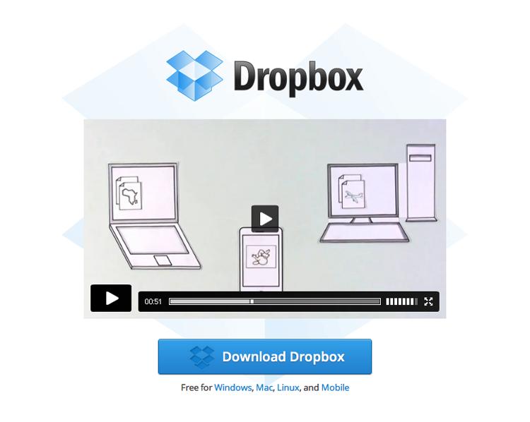 Dropbox introduction video