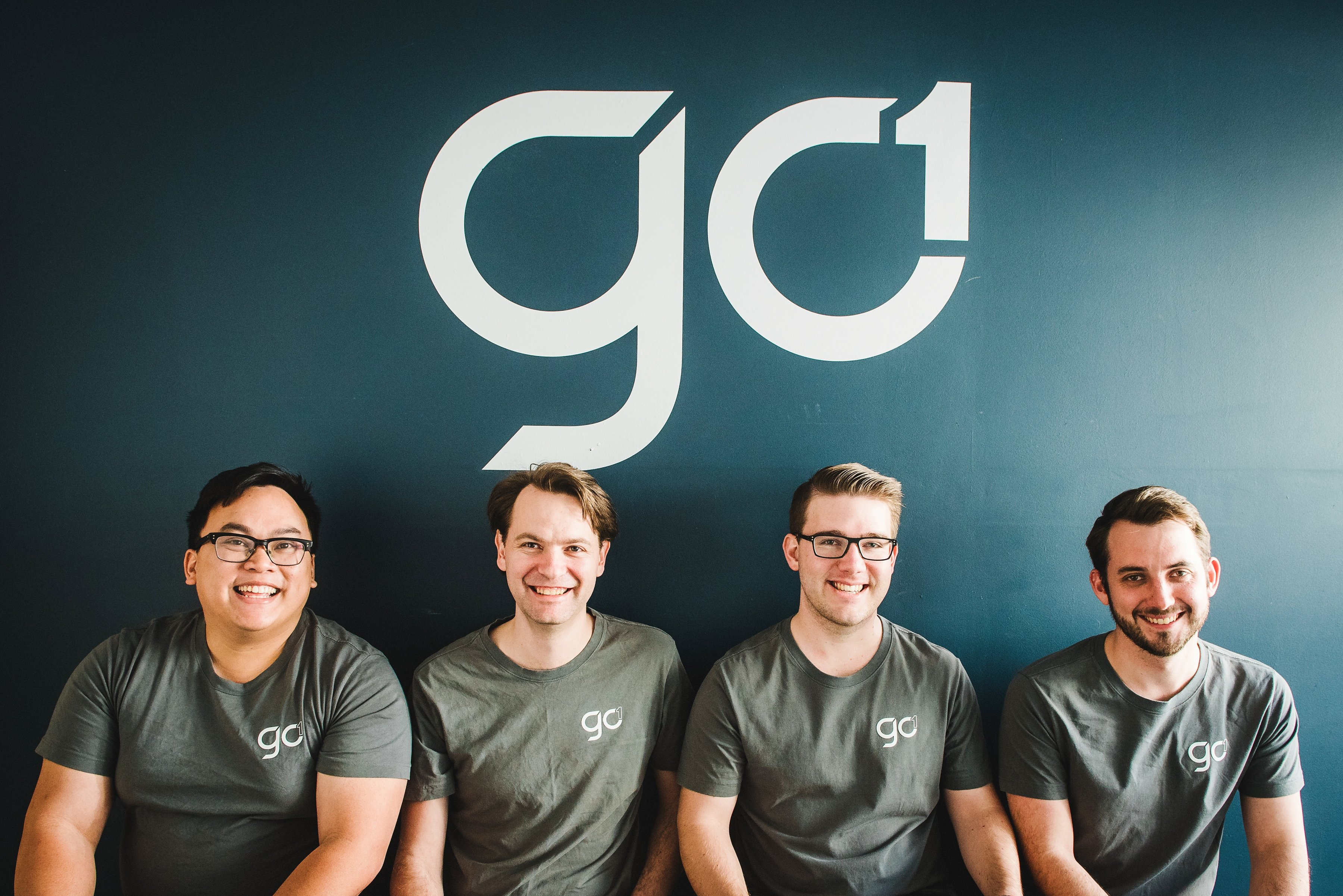 Photo of the GO1 team that powers user's login experiences with Auth0