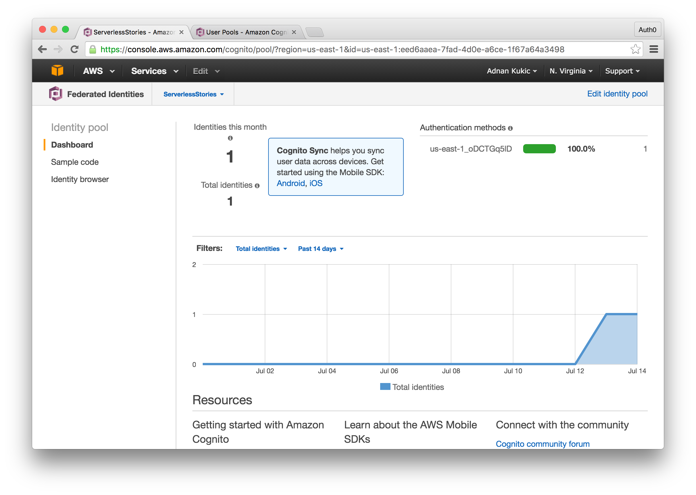 AWS Cognito in Action