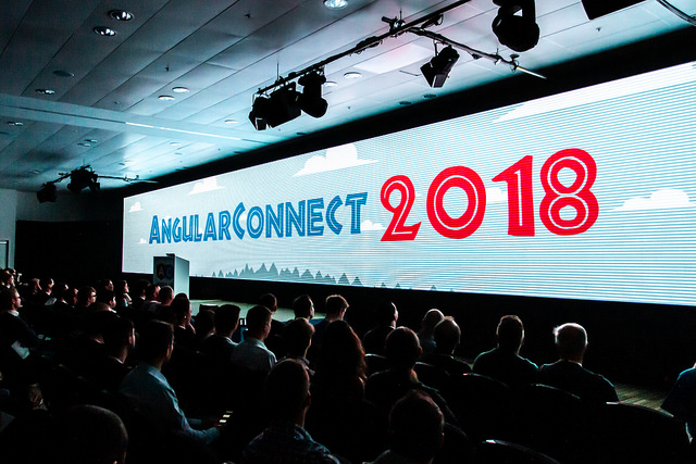 AngularConnect Day One Opening