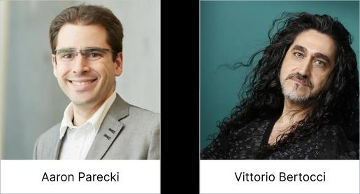 Developer Day speakers Aaron Parecki and Vittorio Bertocci