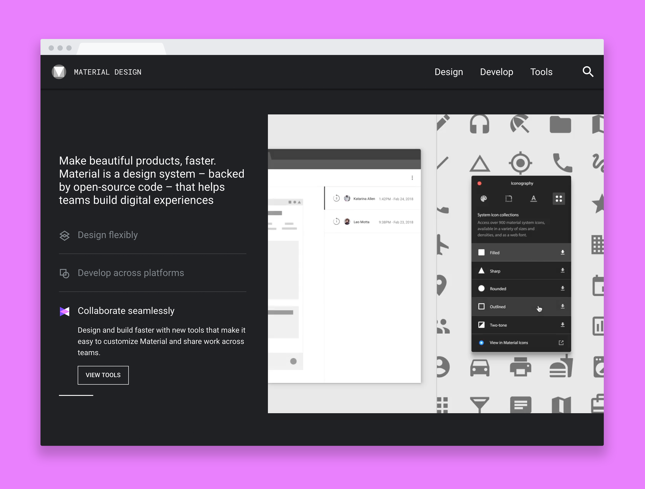Material theme 2