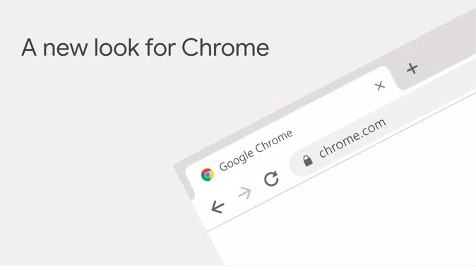 New UI and features of Google Chrome browser