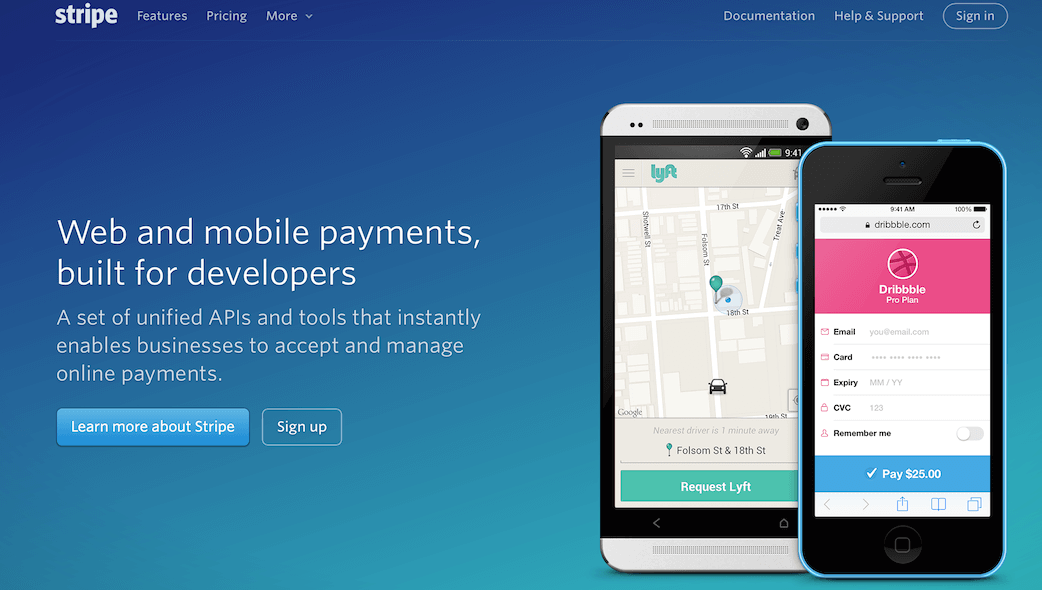 Payment processing platforms offer lots of features