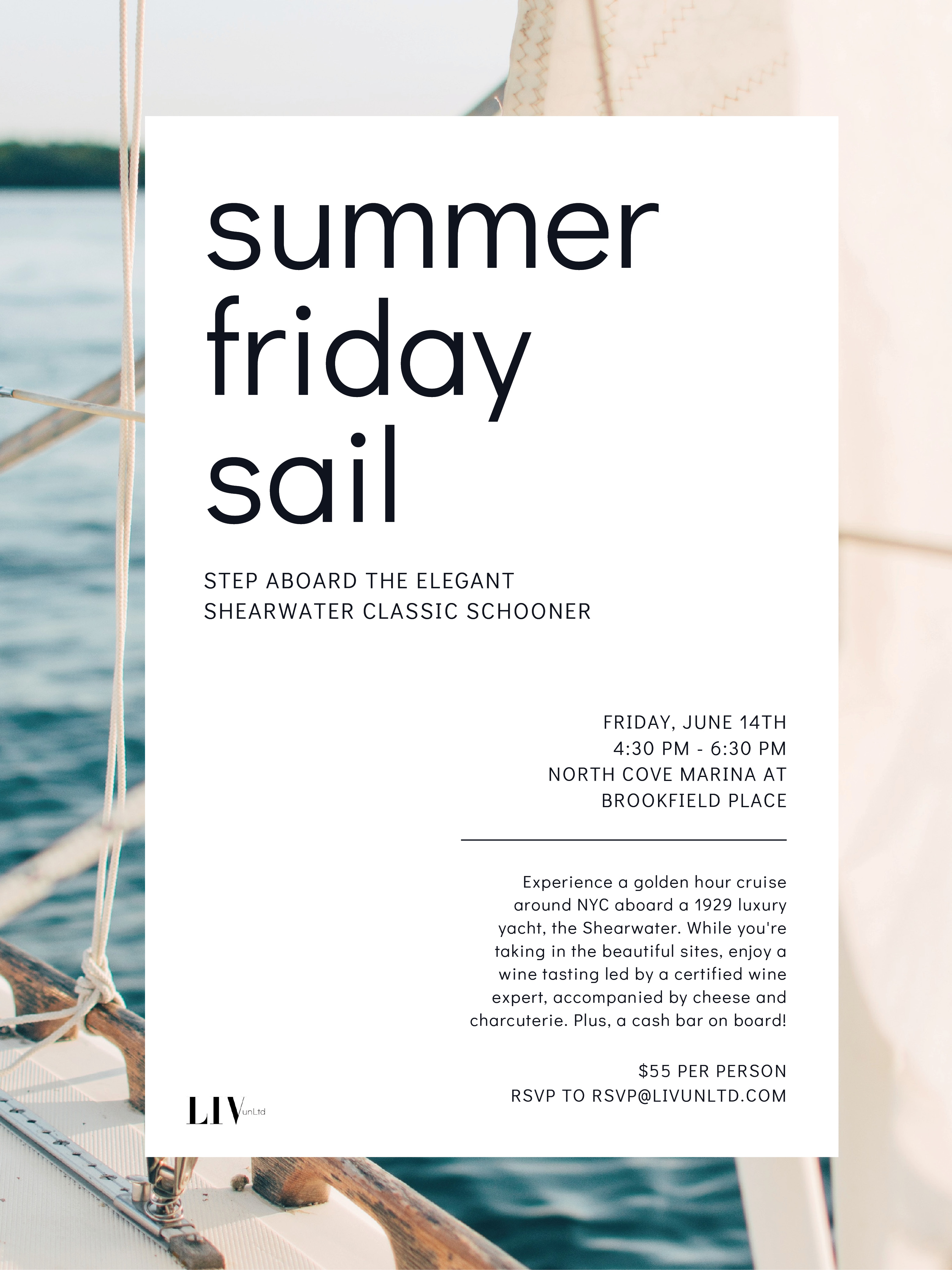 Summer Friday Sail