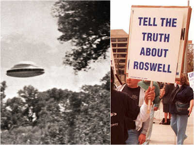 10 Of The Wildest UFO Conspiracy Theories Of All Time