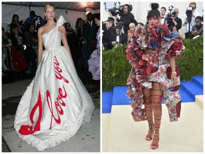 17 Met Gala Gowns That Were So Weird They Were Good