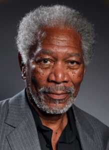 Morgan Freeman Is the Subject of the World's Most Realistic Finger Painting