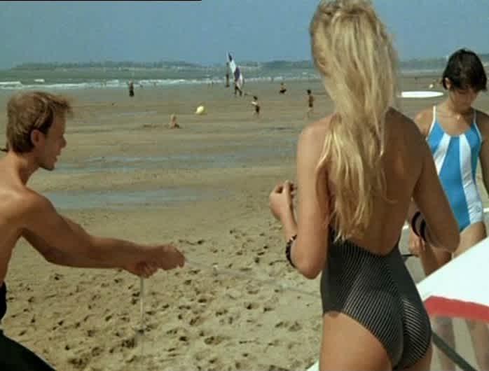 Pauline Am Strand 1983