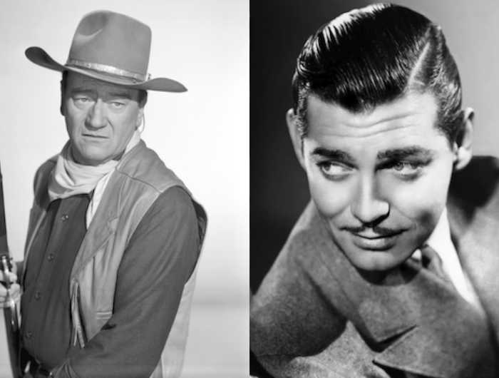 John Wayne on Clark Gable | Hollywood Stars' Meanest Remarks ...
