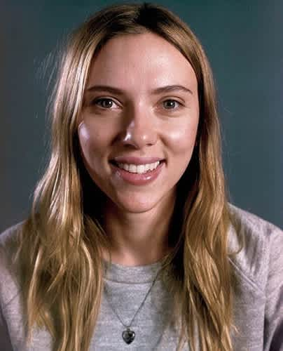 Scarlett Johansson Face Off Stars Without Makeup Purple Clover