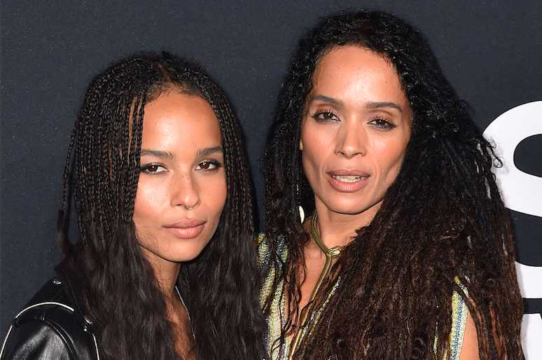 Lisa Bonet Zoe Kravitz 35 Portraits Of Famous Mothers