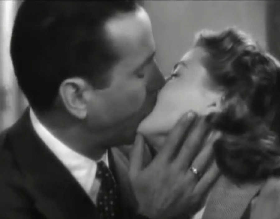 Image result for Casablanca 1942 kiss