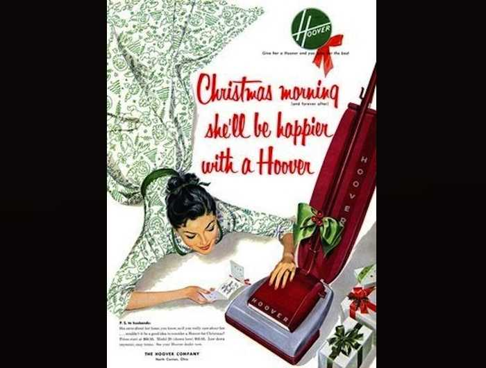 Hoover Vacuum Cleaner | 13 Stunningly Sexist Ads from the