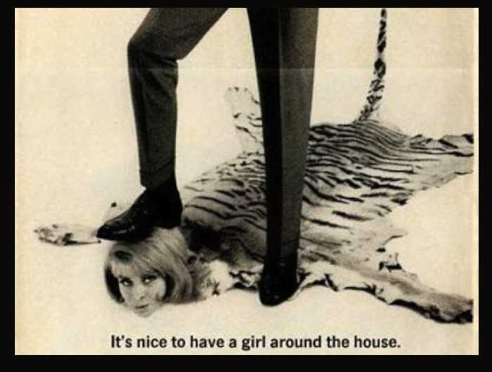 Dacron Leggs Pants | 13 Stunningly Sexist Ads from the