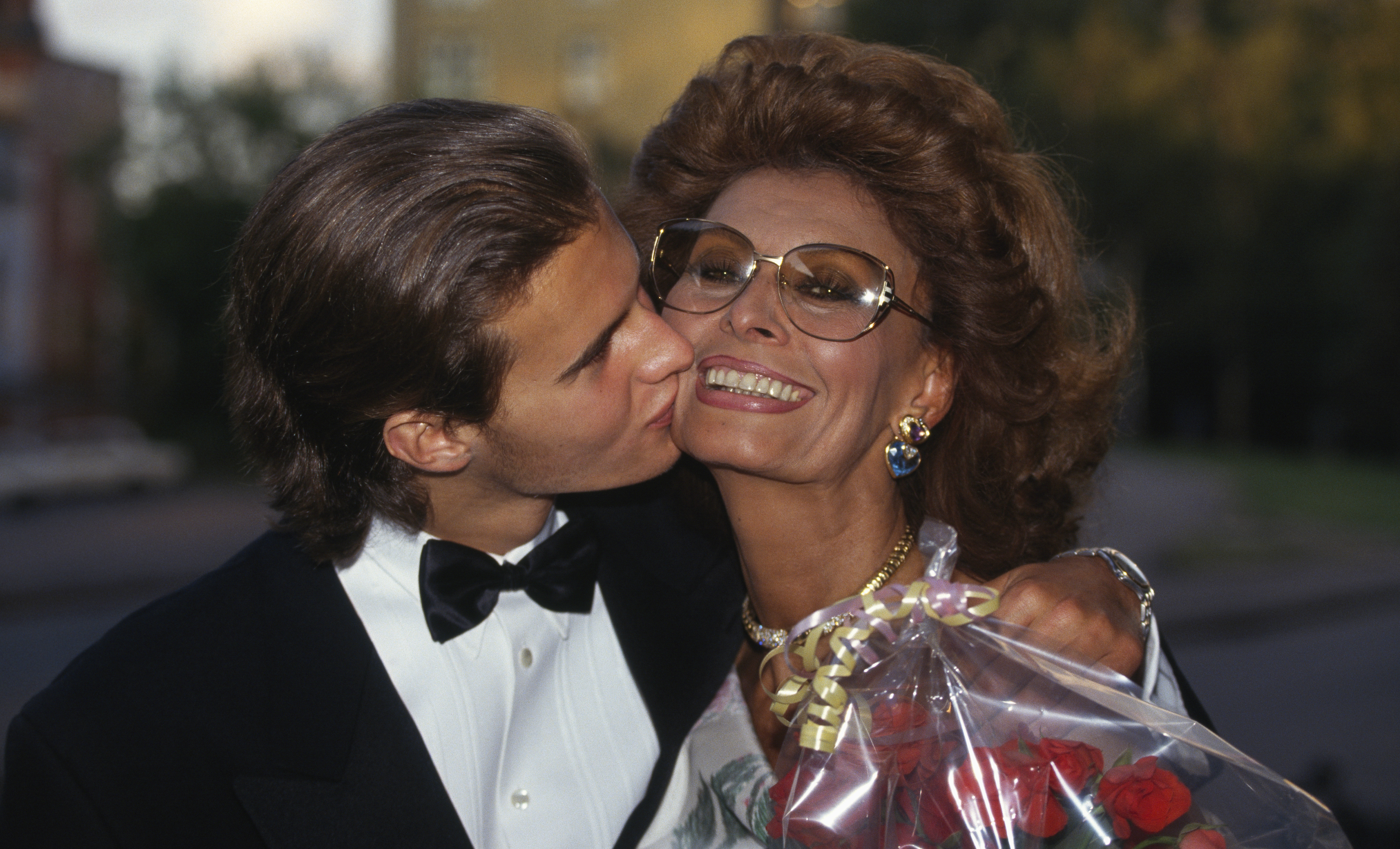 Her Sons Made Their Own Mark Sophia Loren A Life In Pictures Purple Clover