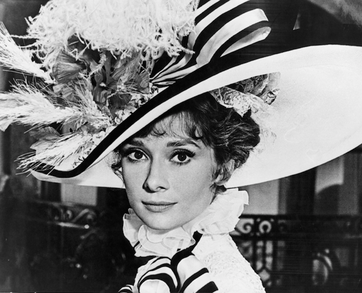 Audrey Hepburn My Fair Lady 1964 25 Of The Most Iconic Hats In Film History Purple Clover