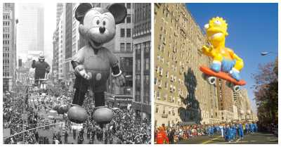 Iconic Photos of the Macy's Thanksgiving Day Parade from Every Decade