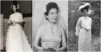 20 Old Wedding Dress Styles You Would Never Catch A Bride In Now