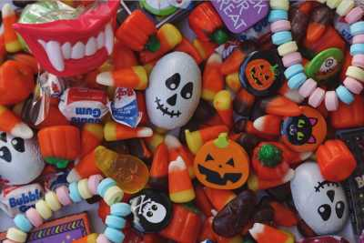 Halloween Candy, Gluten and Me