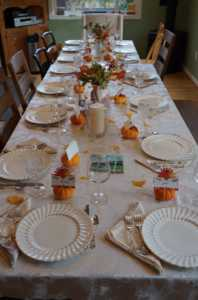 My Thanksgiving Table Sparkled and Gleamed With More Than Just Dishes