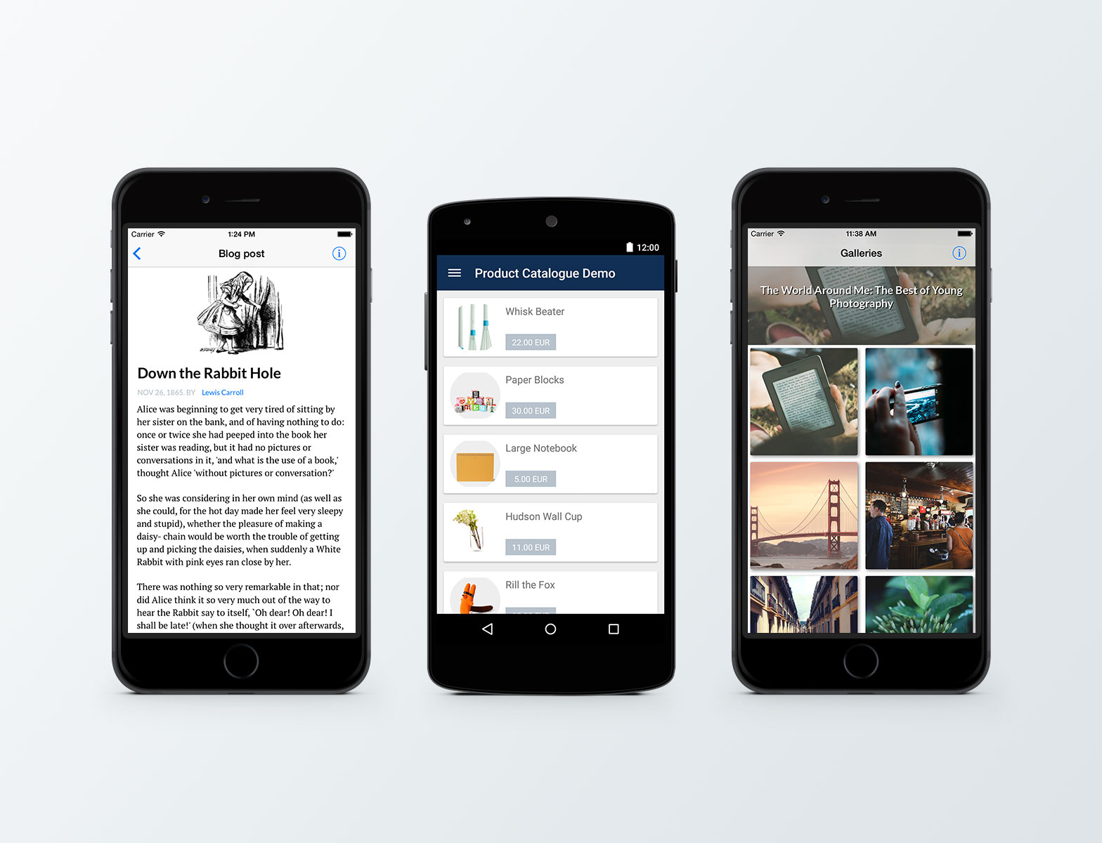 demo mobile apps blog post