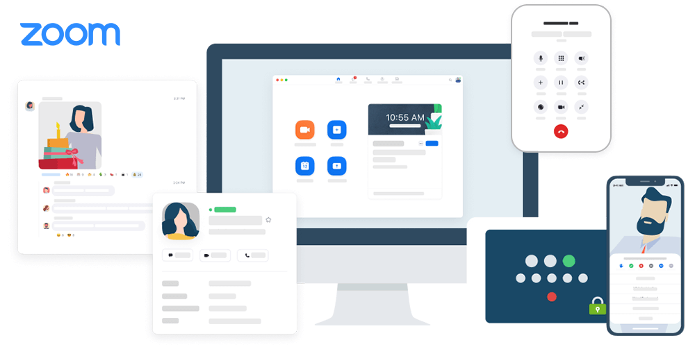 Zoom is one of the most solid and scalable apps for your video meetings.