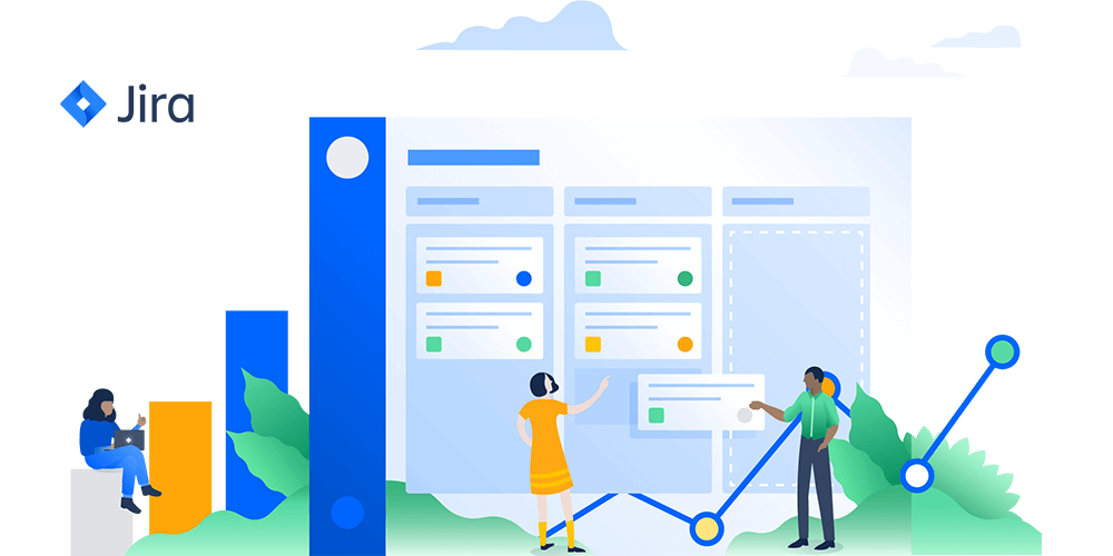 Jira offers Scrum and Kanban boards.