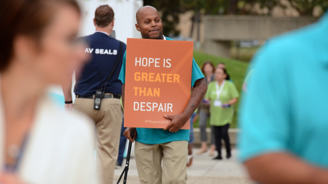 Hope is greater than despair
