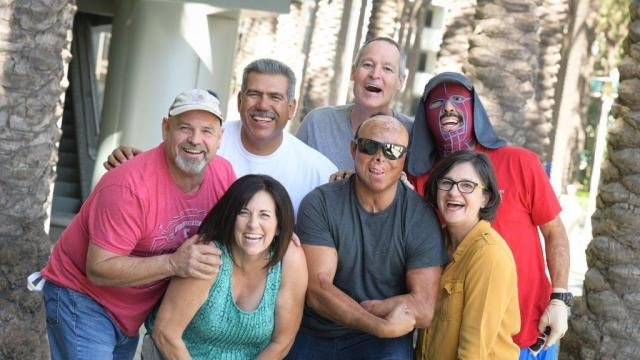 Group photo of survivors
