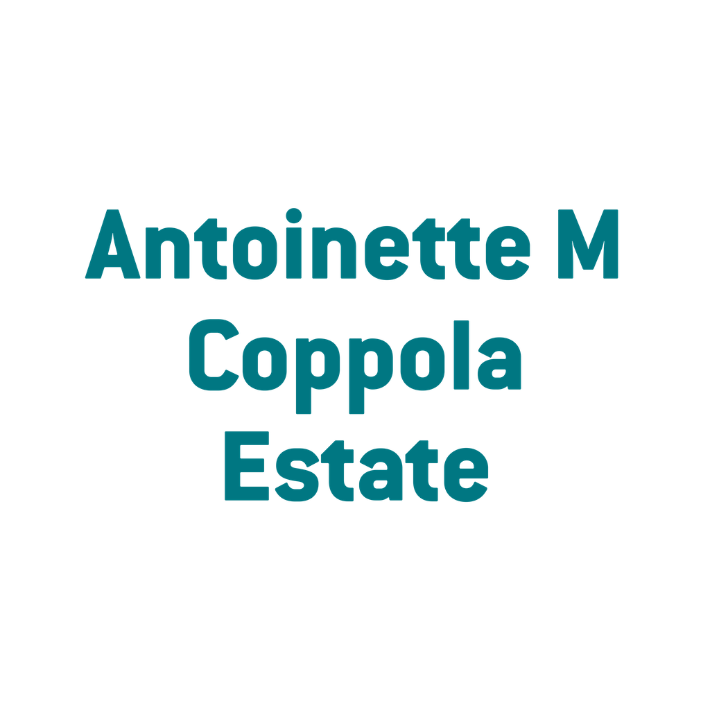 Antoinette M Coppola Estate