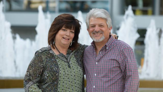 Julie and Ben Spiegal
