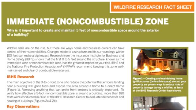NFPA Factsheets