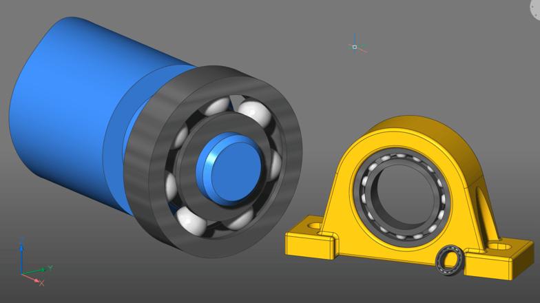 Create parametric parts using constraints