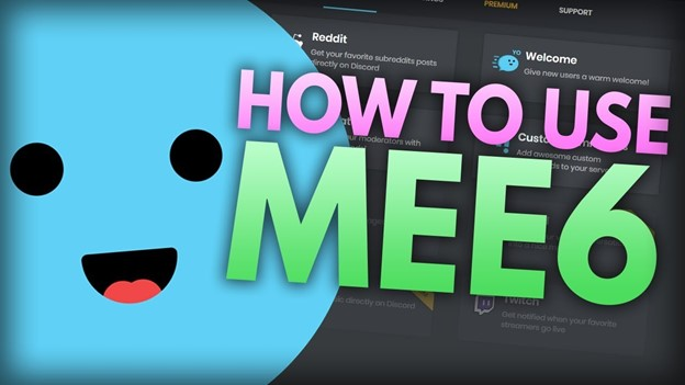 mee6 bot for discord - how to use mee6