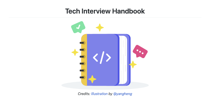 Tech Interview Handbook Repository