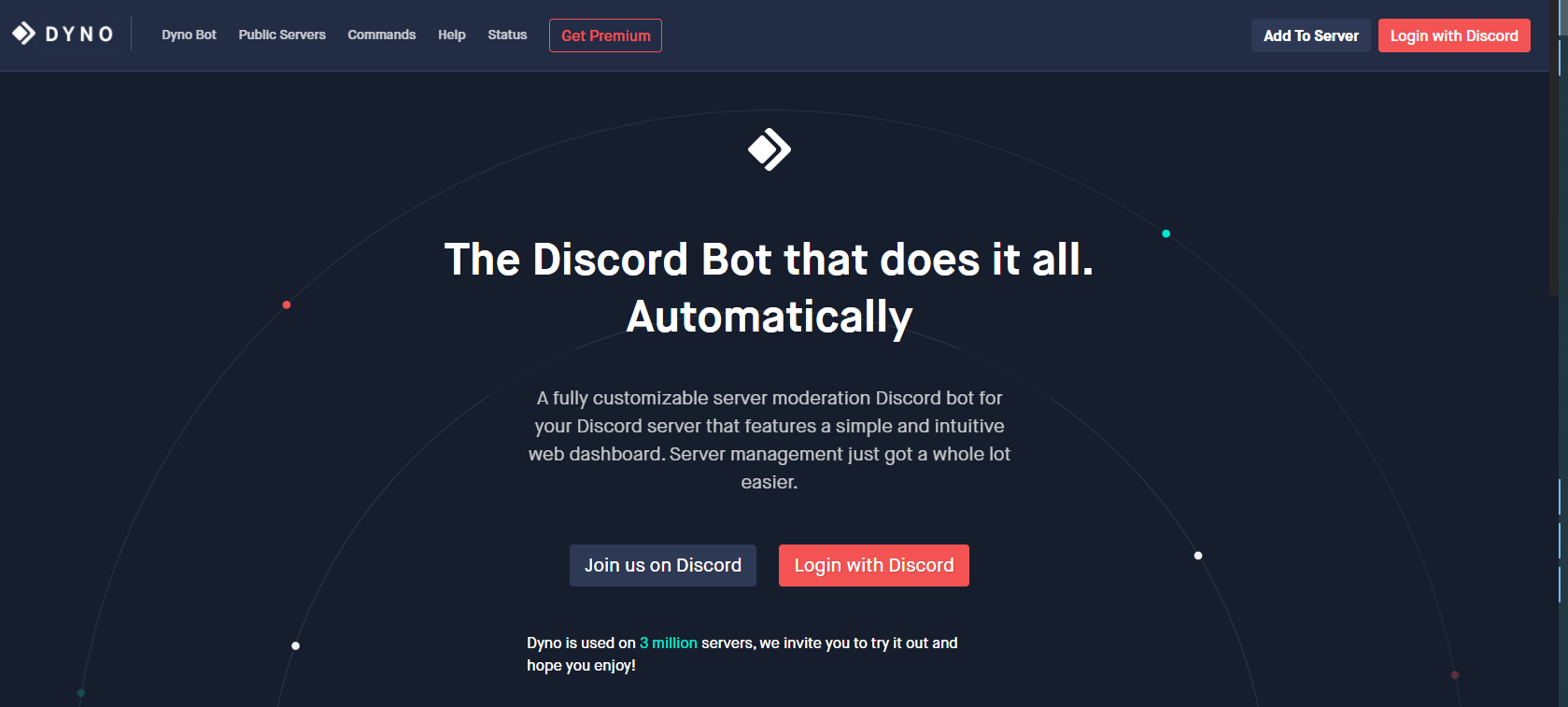 How to Add Dyno Bot to Server