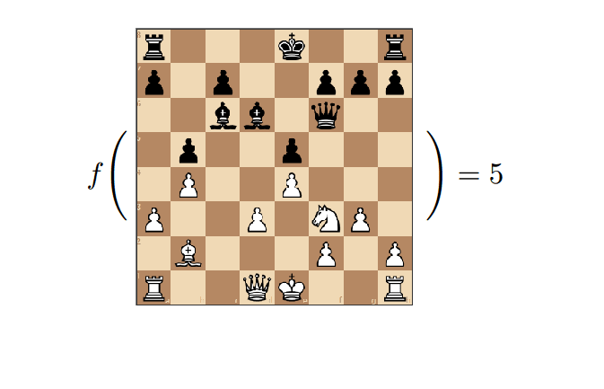 Chess field for a simple chess ai with javascript