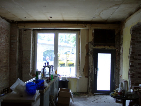 Brel interior view bar room before renovation