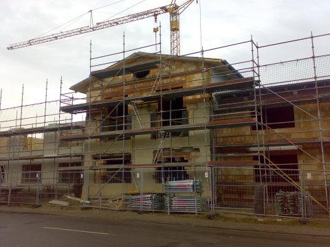 Nechlin Schnitterhaus - Rohbau Sanierung und Erweiterung