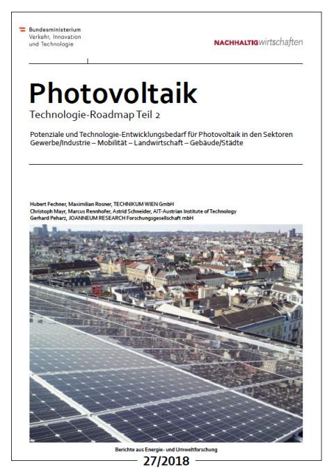 Photovoltaic Roadmap for Austria Part 2