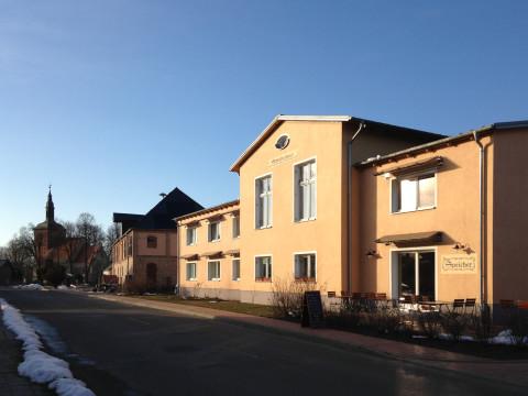 Nechlin Schnitterhaus noch ohne Solare Fensterläden