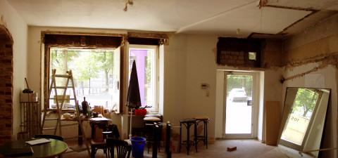 Brel - interior before renovation
