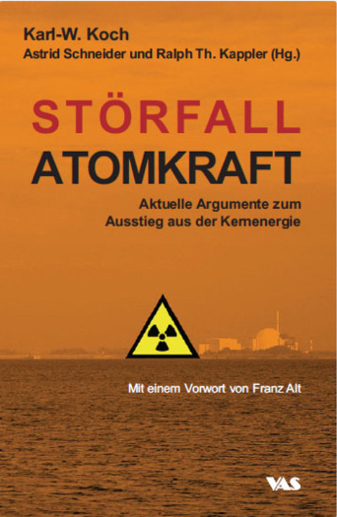 Book 'Störfall Atomkraft' - VAS publisher