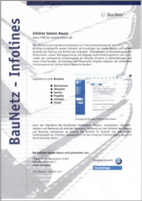 Baunetz-Infoline-Solar