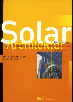 Solar Architecture for Europe - Book